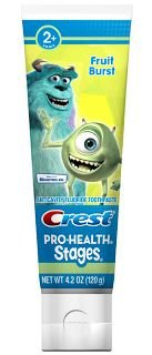 pasta Crest Monsters pre deti