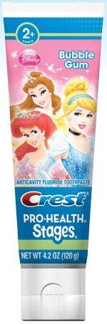 detská zubná pasta Princess