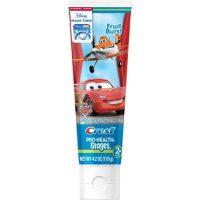 detská zubná pasta Crest Cars pre deti