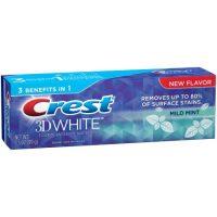 Bieliaca zubná pasta Crest mild mint